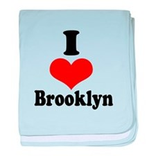I Heart Brooklyn 1 baby blanket