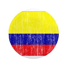 "Colombia Flag 3.5"" Button (100 pack)"