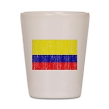 Colombia Flag Shot Glass