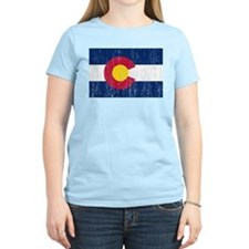 Colorado Flag Camisetas