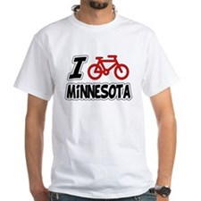 I Love Cycling Minnesota Shirt