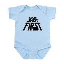 Han Shot First Infant Bodysuit