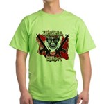 Zombie killer 3 Green T-Shirt