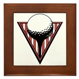 Golf15 Framed Tile