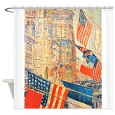 Famous Paintings: Celebration! Shower Curtain
