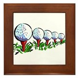 Golf27 Framed Tile