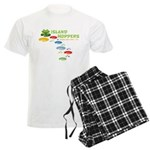 Island Hoppers Men's Light Pajamas