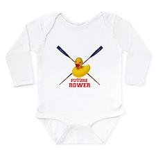 Cute Regatta Long Sleeve Infant Bodysuit
