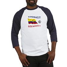 Goal Ecuador Baseball Jersey