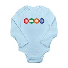 Airstream Season Long Sleeve Infant Bodysuit