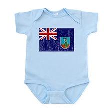 Montserrat Flag Infant Bodysuit
