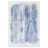 Watercolor Inspirational Poster: Our aspirations a