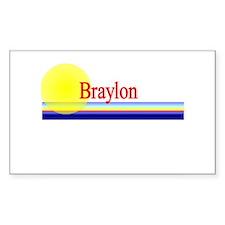 Braylon Rectangle Decal