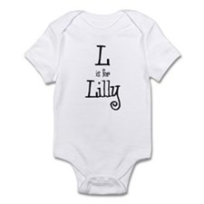 L Is For Lilly Infant Creeper