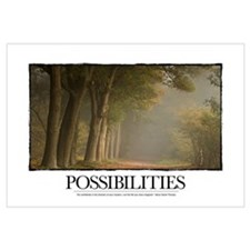 Inspirational Poster: Possibilities: Go confidentl