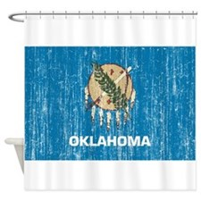 Oklahoma Flag Shower Curtain