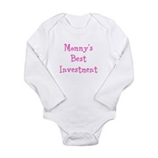 Mommys Best Investment Long Sleeve Infant Bodysuit
