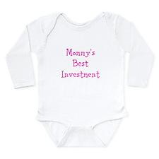 Mommys Best Investment Long Sleeve Infant Bodysuit