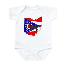 ohio LBD Infant Bodysuit
