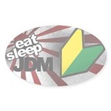 Eat Sleep JDM Decal