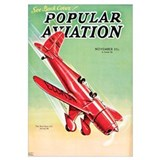Popular Aviation Magazine Cover, November 1934