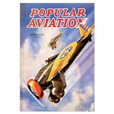 Popular Aviation Magazine Cover, January 1934
