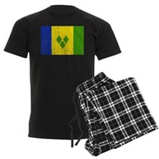 Saint Vincent Flag Pajamas
