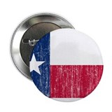 "Texas Flag 2.25"" Button"