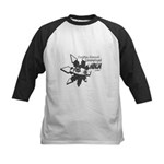 Unemployed Ninja Kids Baseball Jersey