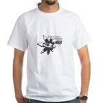 Unemployed Ninja White T-Shirt