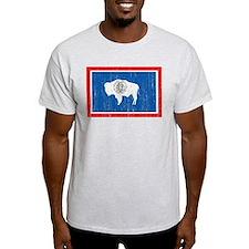 Wyoming Flag T-Shirt