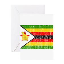 Zimbabwe Flag Greeting Card