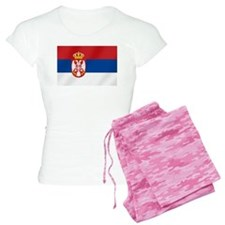 Flag of Serbia Pajamas