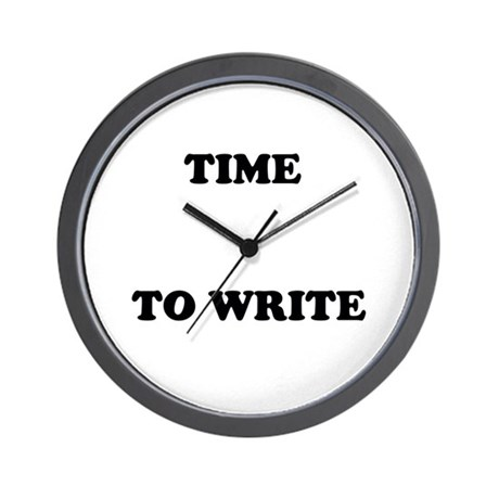 Time to Write Wall Clock for writers