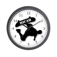 MICAH - Skateboard Wall Clock