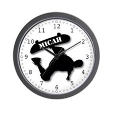 MICAH - Skateboard Wall Clock