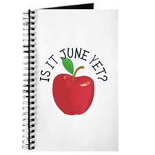 Is It June Yet Journal