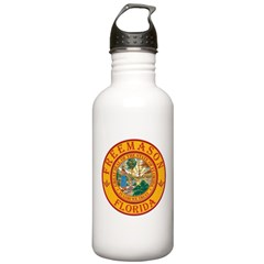 Florida Freemasons Stainless Water Bottle 1.0L