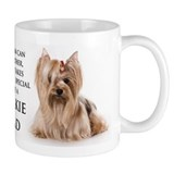 Yorkie Dad Small Mug
