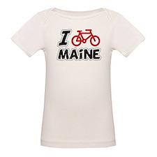 I Love Cycling Maine Tee