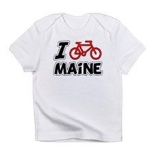 I Love Cycling Maine Infant T-Shirt