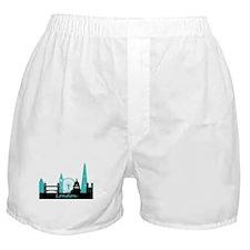 London landmarks Boxer Shorts