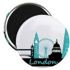 """London landmarks 2.25"""" Magnet (100 pack)"""