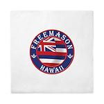 Hawaiian Freemason Queen Duvet