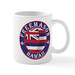 Hawaiian Freemason Mug