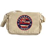 Hawaiian Freemason Messenger Bag