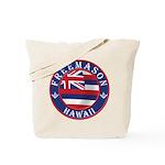 Hawaiian Freemason Tote Bag
