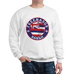 Hawaiian Freemason Sweatshirt