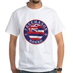 Hawaiian Freemason White T-Shirt