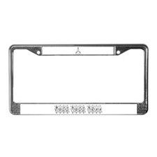 Puff Puff Pass License Plate Frame